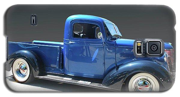 Blue Chev Truck Galaxy S5 Case