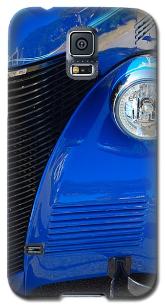 Blue Chevy Galaxy S5 Case