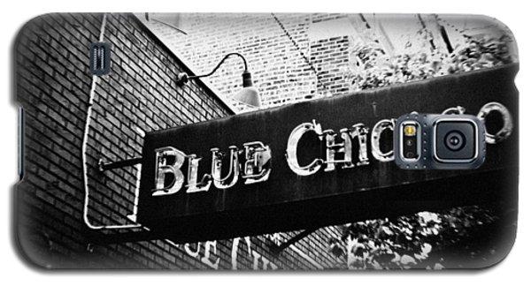 Blue Chicago Nightclub Galaxy S5 Case by Kyle Hanson