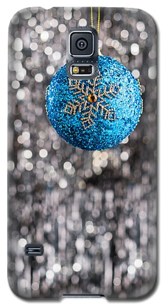 Galaxy S5 Case featuring the photograph Blue Christmas by Ulrich Schade