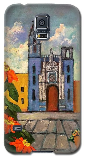 Blue Church   Iglesia Azul Galaxy S5 Case