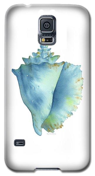 Blue Conch Shell Galaxy S5 Case