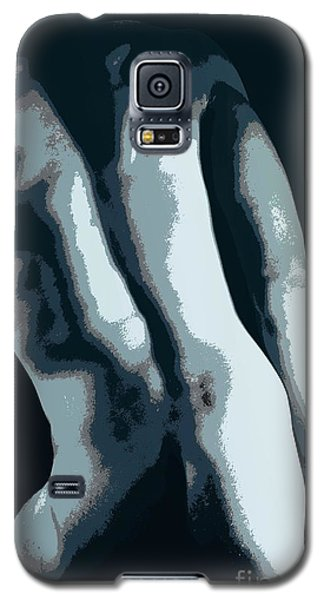 Blue Contour Galaxy S5 Case