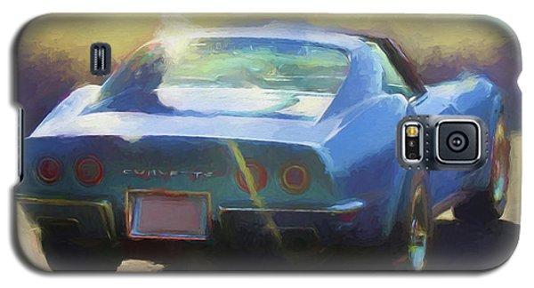 Blue Corvette Galaxy S5 Case
