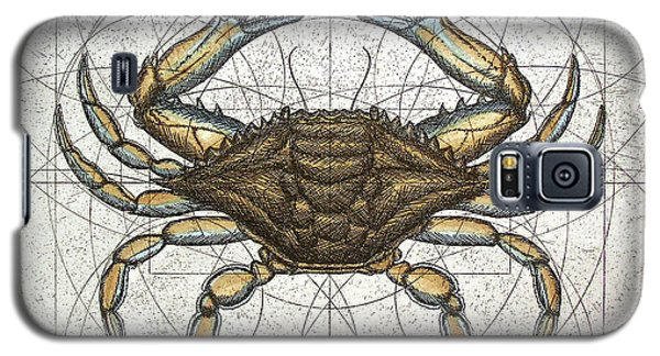 Blue Crab Galaxy S5 Case by Charles Harden