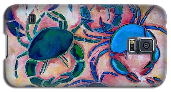 Blue Crabs Galaxy S5 Case