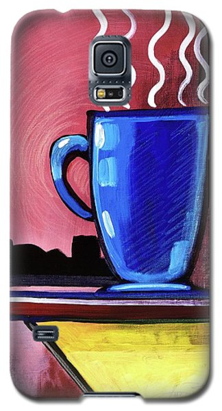 Blue Cup Galaxy S5 Case