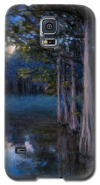 Blue Cypress Morning Galaxy S5 Case
