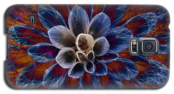 Blue Dahlia Galaxy S5 Case