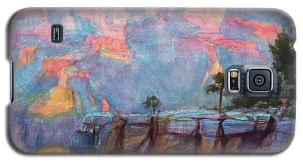 Grand Canyon Galaxy S5 Case - Blue Depths by Steve Henderson