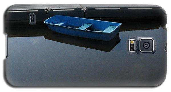 Blue Dinghy Quiet Waters Galaxy S5 Case