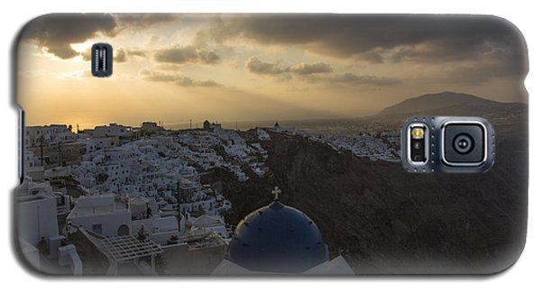 Blue Dome - Santorini Galaxy S5 Case