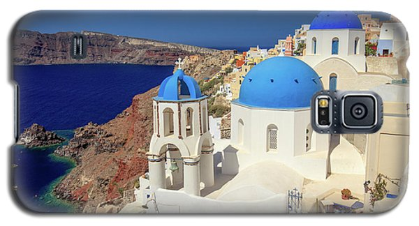 Blue Domed Churches Galaxy S5 Case