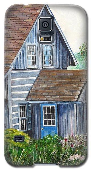 Blue Door Galaxy S5 Case by Marilyn  McNish