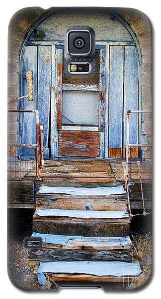 Blue Door Of Riley Galaxy S5 Case