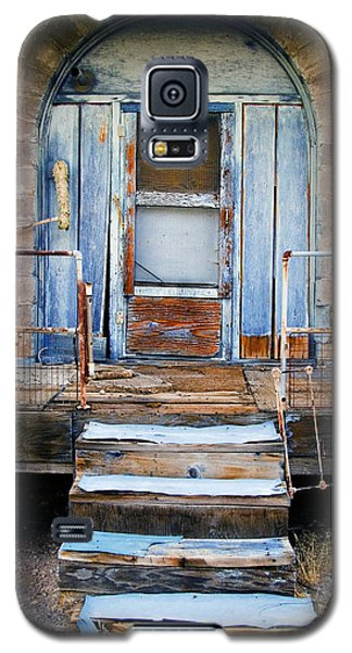 Blue Door Of Riley Galaxy S5 Case