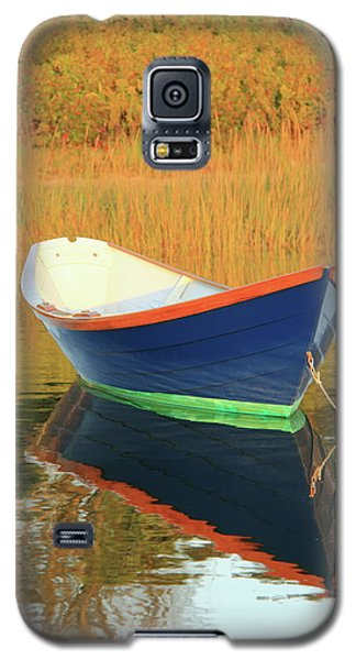 Galaxy S5 Case featuring the photograph Blue Dory by Roupen  Baker
