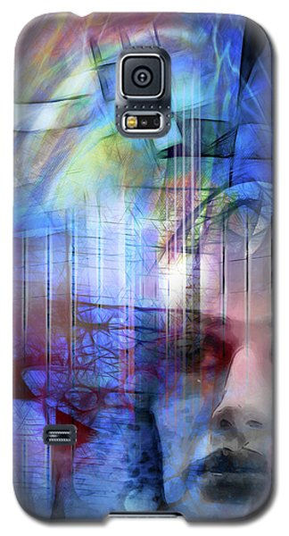 Blue Drama Vision Galaxy S5 Case