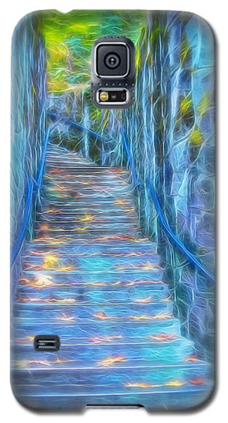 Blue Dream Stairway Galaxy S5 Case