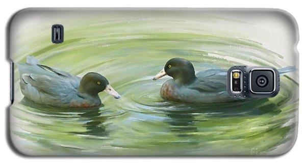 Blue Ducks  Galaxy S5 Case