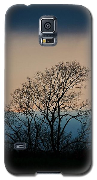 Galaxy S5 Case featuring the photograph Blue Dusk by Chris Berry