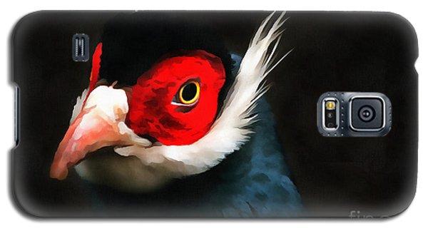 Blue Eared Pheasant Galaxy S5 Case