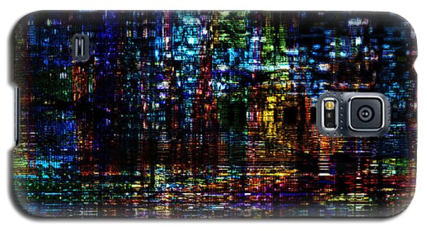 Blue Evening Galaxy S5 Case