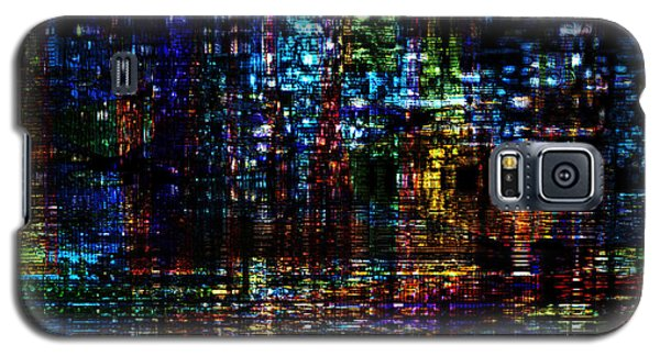 Blue Evening Galaxy S5 Case