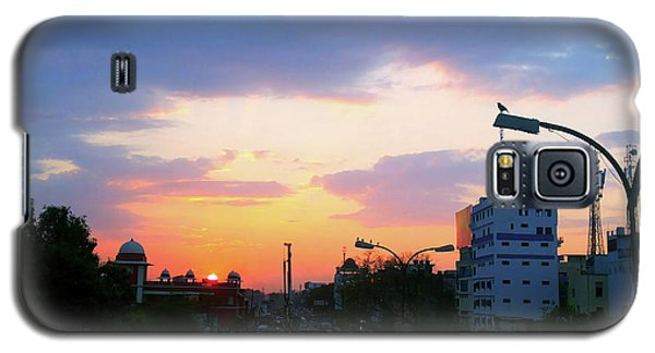 Blue Evening Sky Galaxy S5 Case