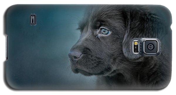 Blue Eyed Puppy Galaxy S5 Case
