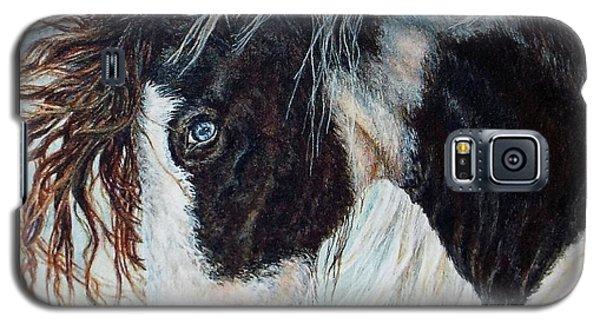 Blue Eyed Storm Galaxy S5 Case