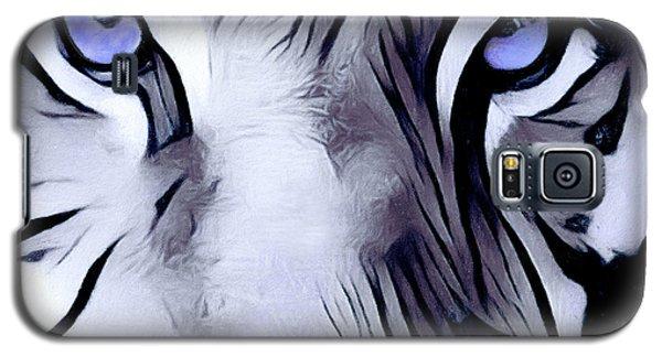 Blue Eyed Tiger Galaxy S5 Case