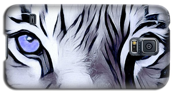 Blue Eyed Tiger Galaxy S5 Case