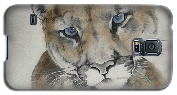 Blue Eyes Galaxy S5 Case by Lori Brackett