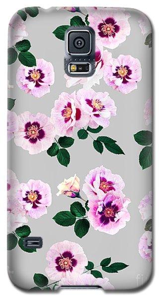 Blue Eyes Roses Galaxy S5 Case