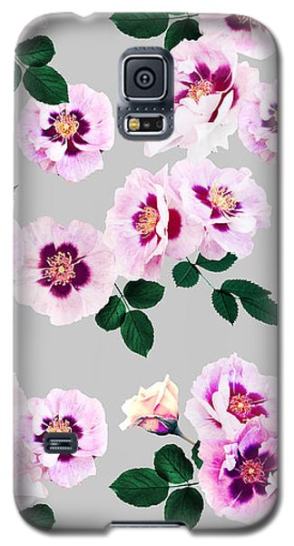 Blue Eyes Roses Galaxy S5 Case