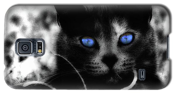 Galaxy S5 Case featuring the photograph Blue Eyes by Yvonne Emerson AKA RavenSoul
