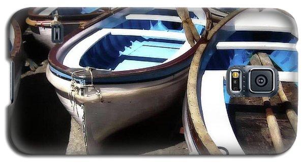 Blue Fishing Boats Galaxy S5 Case