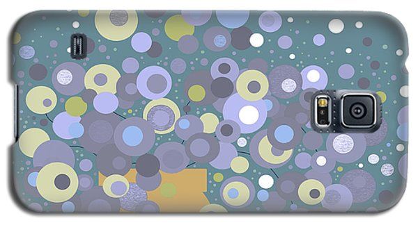 Blue Flora  Galaxy S5 Case