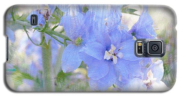 Blue Flower Fantasy Galaxy S5 Case