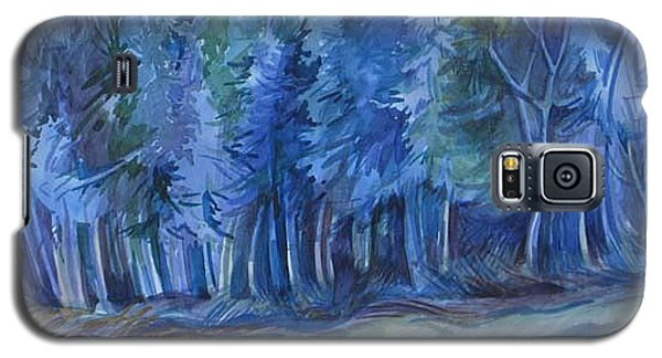 Blue Forest Galaxy S5 Case by Anna  Duyunova