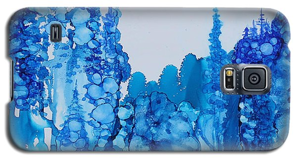 Blue Forest Galaxy S5 Case by Suzanne Canner