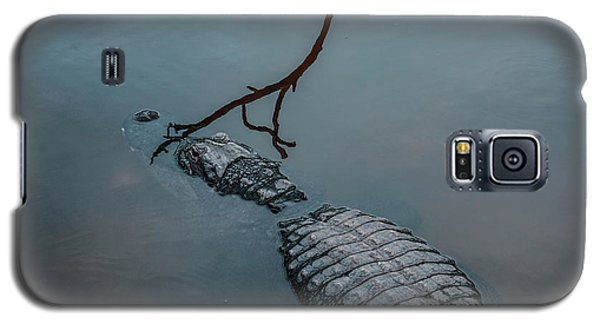 Blue Gator Galaxy S5 Case by Josy Cue