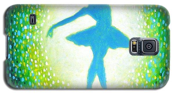 Blue-green Ballerina Galaxy S5 Case