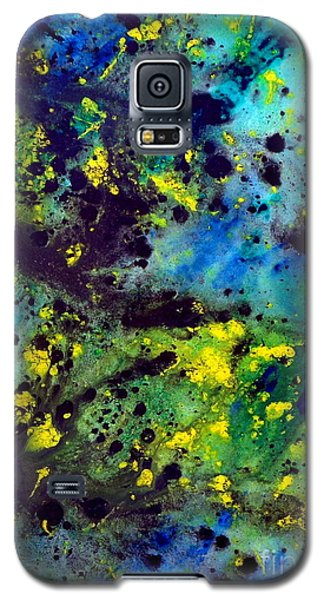 Blue Green Chaos Galaxy S5 Case