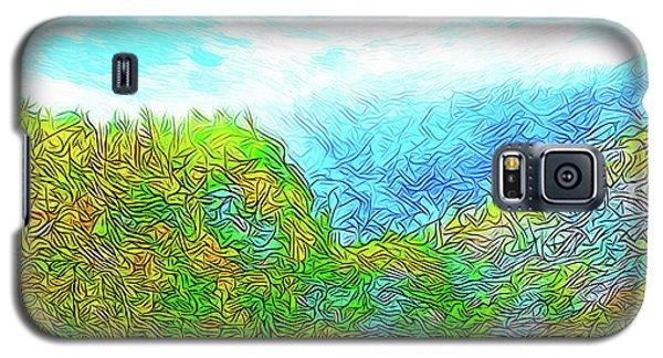 Blue Green Mountain Vista - Colorado Front Range View Galaxy S5 Case by Joel Bruce Wallach