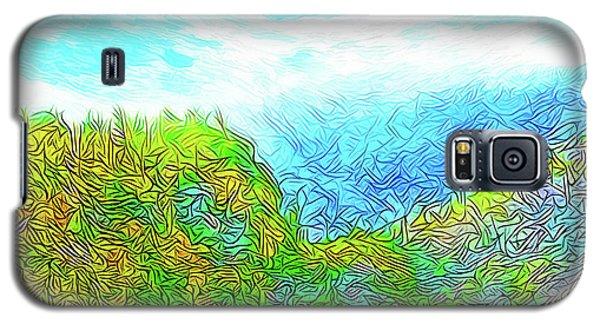 Blue Green Mountain Vista - Colorado Front Range View Galaxy S5 Case