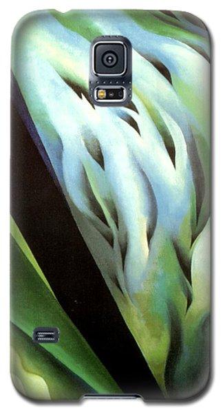 Blue Green Music Galaxy S5 Case
