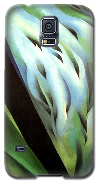 Blue Green Music Galaxy S5 Case