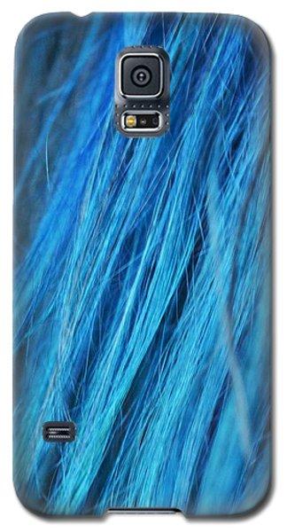 Blue Hair Galaxy S5 Case